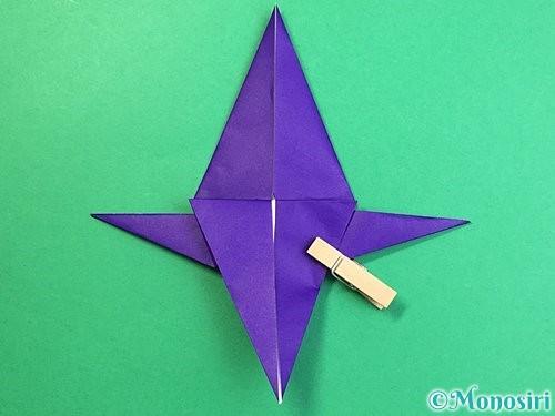 折り紙でカラスの折り方手順31