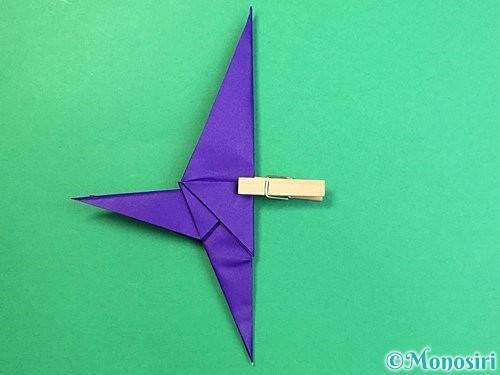 折り紙でカラスの折り方手順33