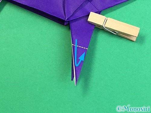 折り紙でカラスの折り方手順41