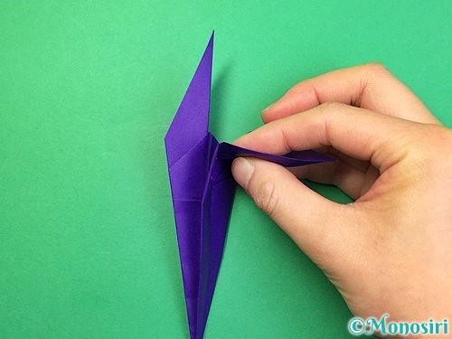 折り紙でツバメの折り方手順25