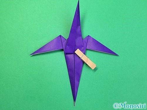 折り紙でツバメの折り方手順30