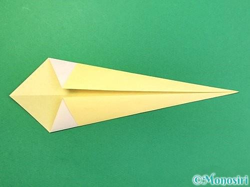 折り紙で白鳥の折り方手順7