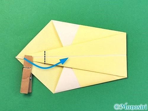 折り紙で白鳥の折り方手順10