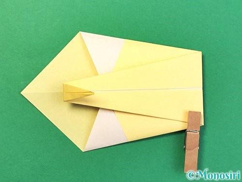 折り紙で白鳥の折り方手順11