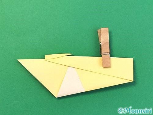 折り紙で白鳥の折り方手順13