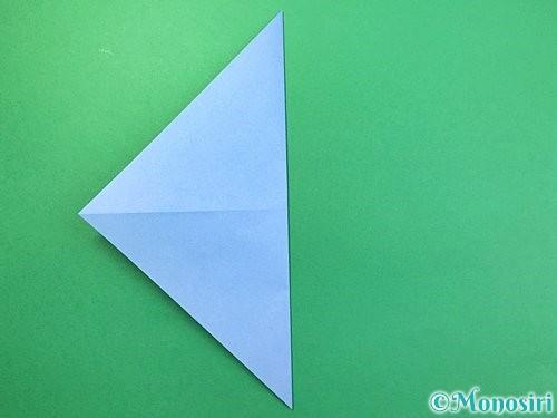 折り紙で鳩の折り方手順4