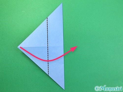 折り紙で鳩の折り方手順5