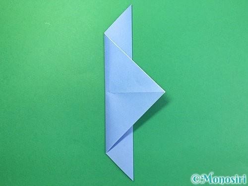 折り紙で鳩の折り方手順6