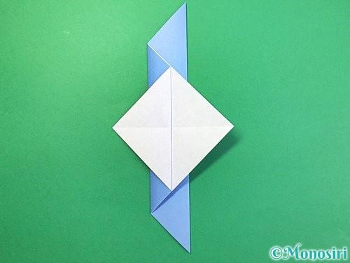 折り紙で鳩の折り方手順8