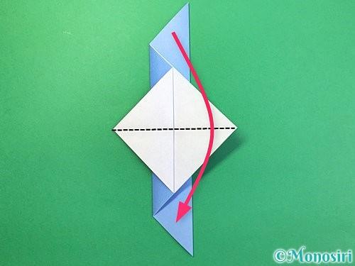 折り紙で鳩の折り方手順9