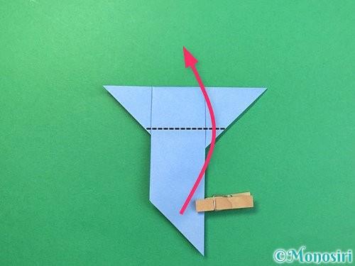折り紙で鳩の折り方手順11