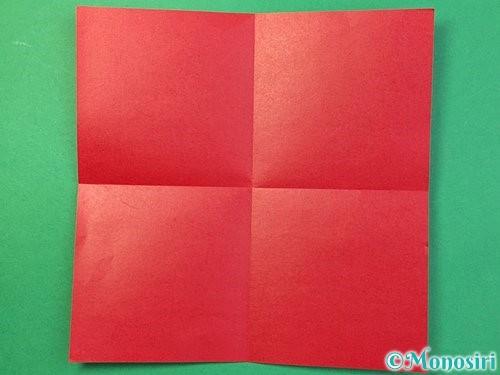 折り紙で❜の折り方手順2
