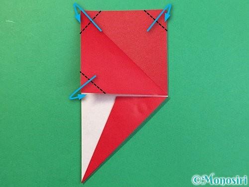 折り紙で❜の折り方手順16