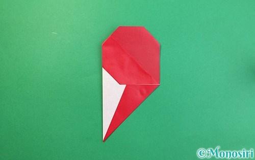 折り紙で折った❜