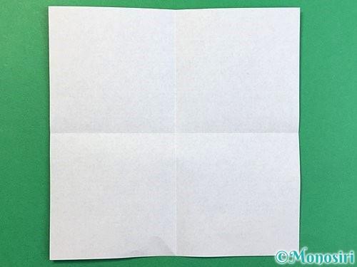 折り紙で?マークの折り方手順2