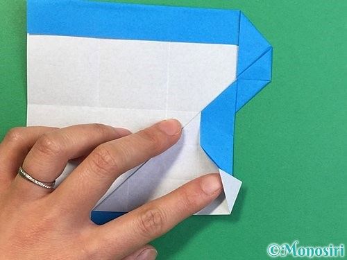 折り紙で?マークの折り方手順24