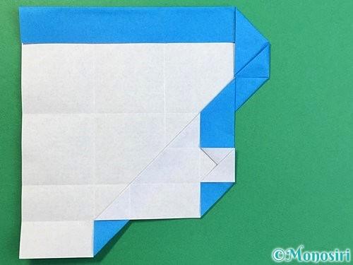 折り紙で?マークの折り方手順27
