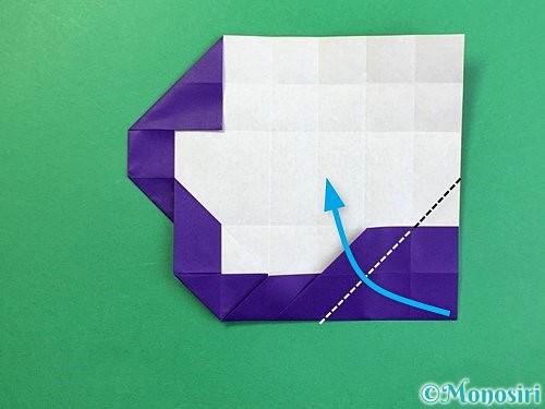 折り紙で&マークの折り方手順25