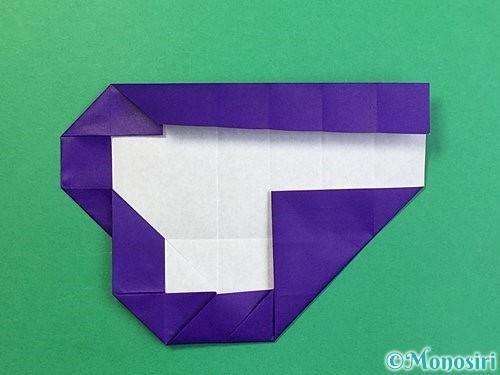 折り紙で&マークの折り方手順28
