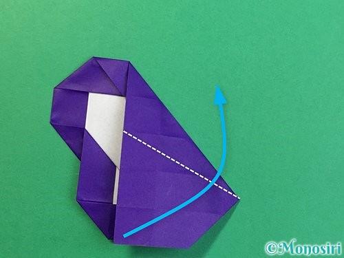 折り紙で&マークの折り方手順31