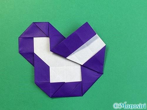 折り紙で&マークの折り方手順32