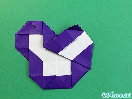 折り紙で&マークの折り方手順34