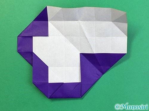 折り紙で&マークの折り方手順35