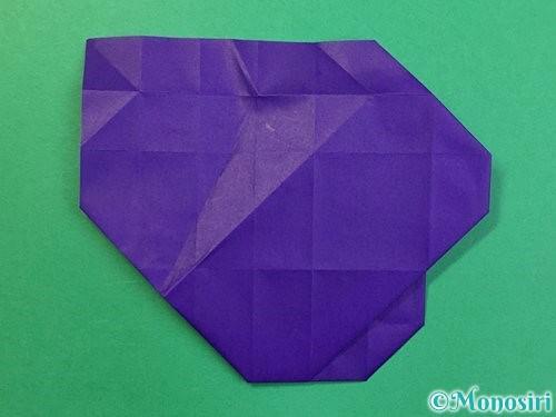 折り紙で&マークの折り方手順36