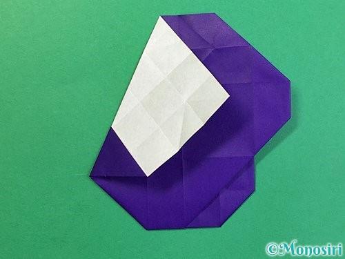折り紙で&マークの折り方手順38