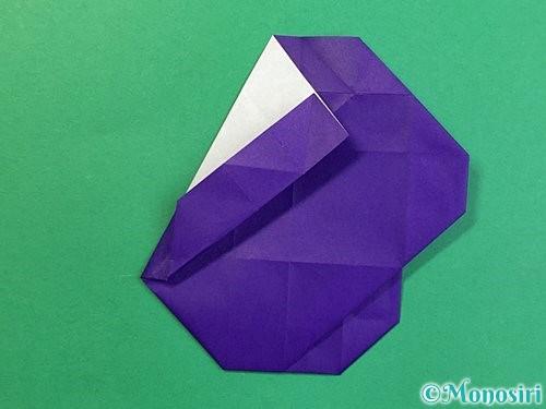 折り紙で&マークの折り方手順40