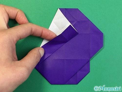 折り紙で&マークの折り方手順42
