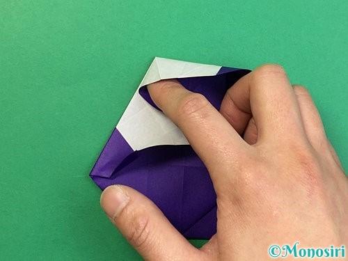 折り紙で&マークの折り方手順45