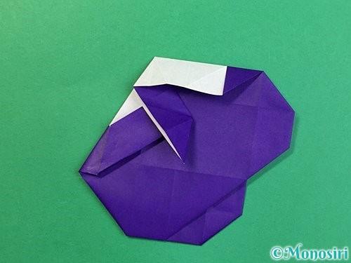 折り紙で&マークの折り方手順49