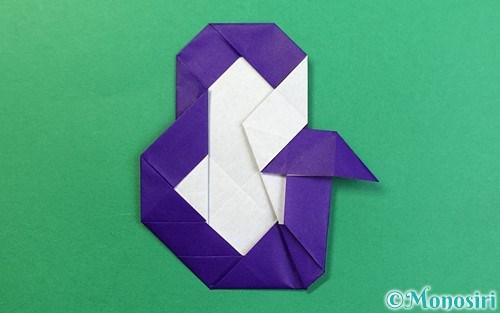 折り紙で折った&マーク